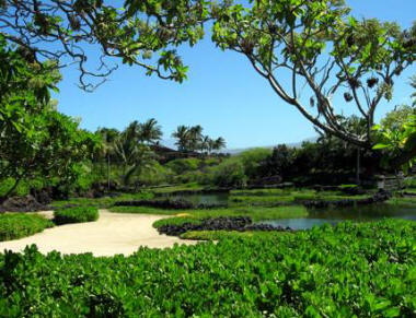 Fishpond am Hualalai Beach